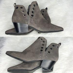 Sam Edelman Gray Rubin Ankle Bootie Size 8.5